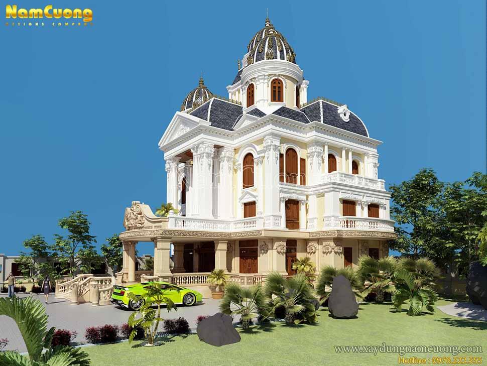 kiến trúc lâu đài đẹp