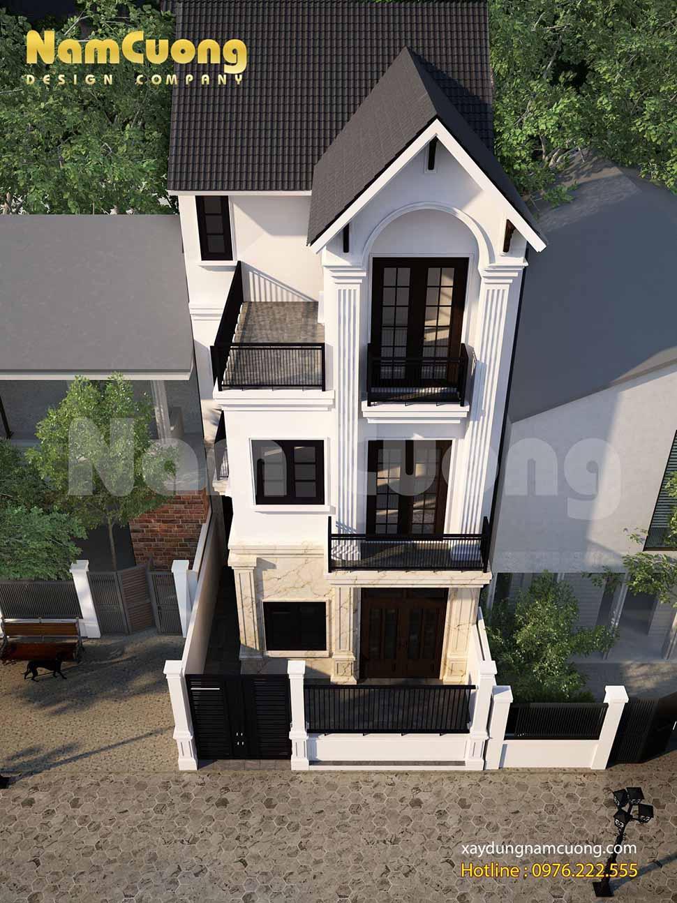 biệt thự 3 tầng 100m2 đang dần khẳng định được vị trí của mình trong nền kiến trúc Việt Nam.