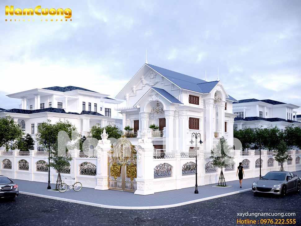 kiến trúc đẳng cấp ngôi biệt thự mái thái