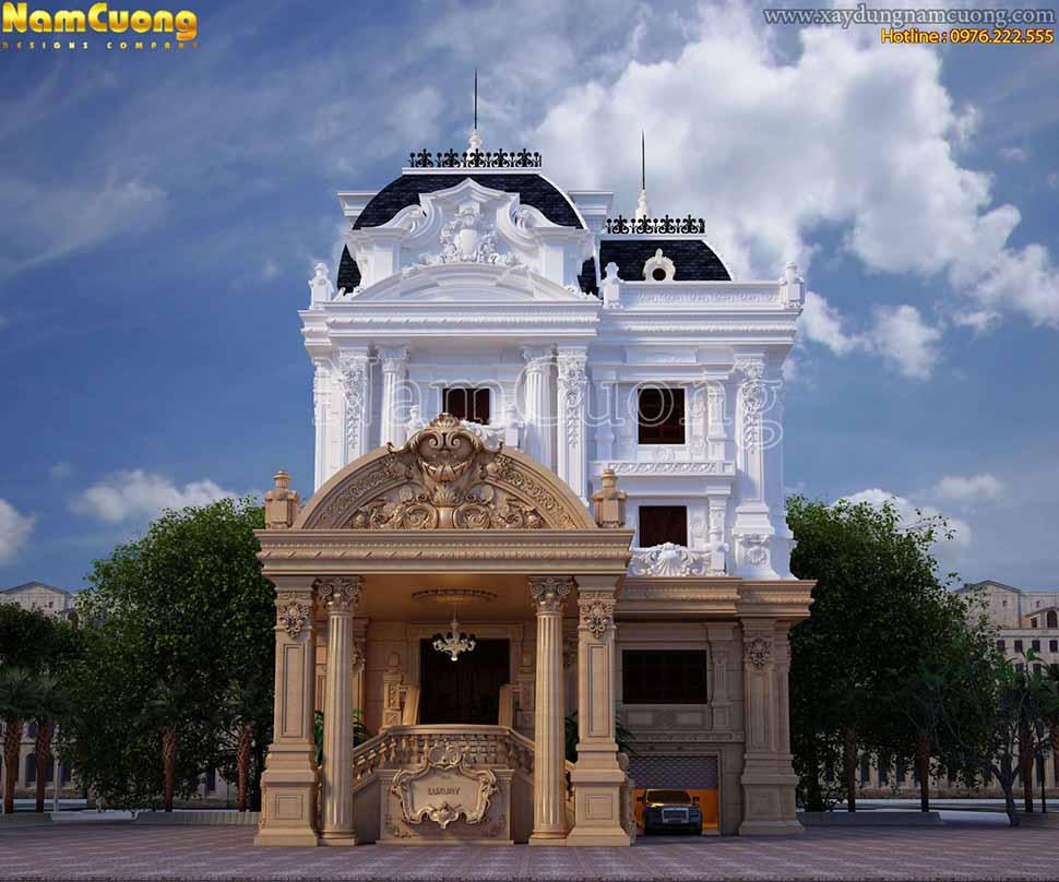 kiến trúc ấn tượng của công trình