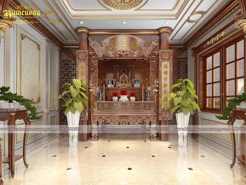 Mẫu phòng thờ