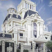 Thiết kế biệt thự lâu đài tại Sài Gòn