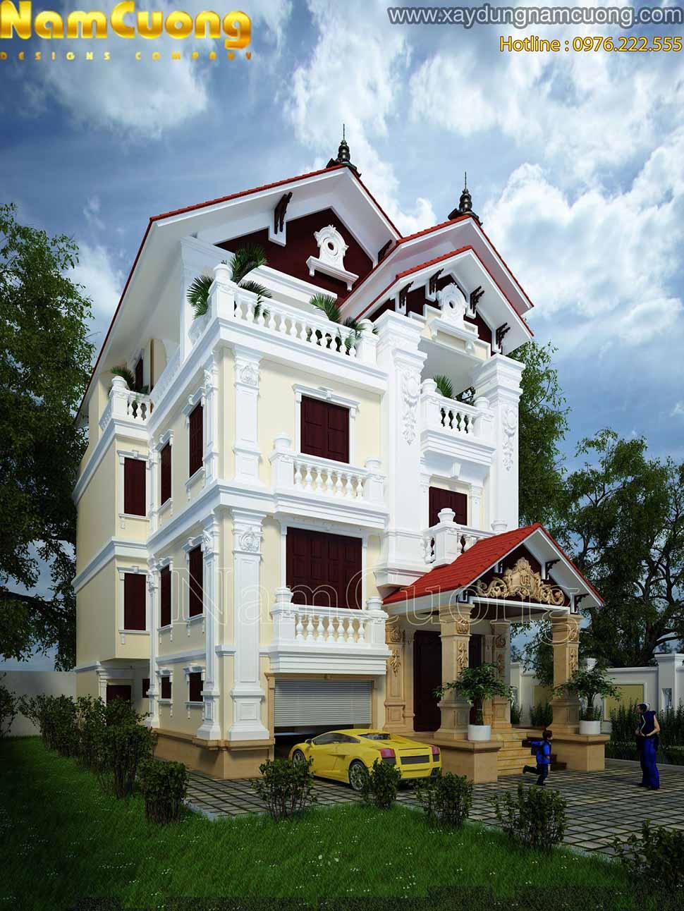 thiết kế kiến trúc ấn tượng