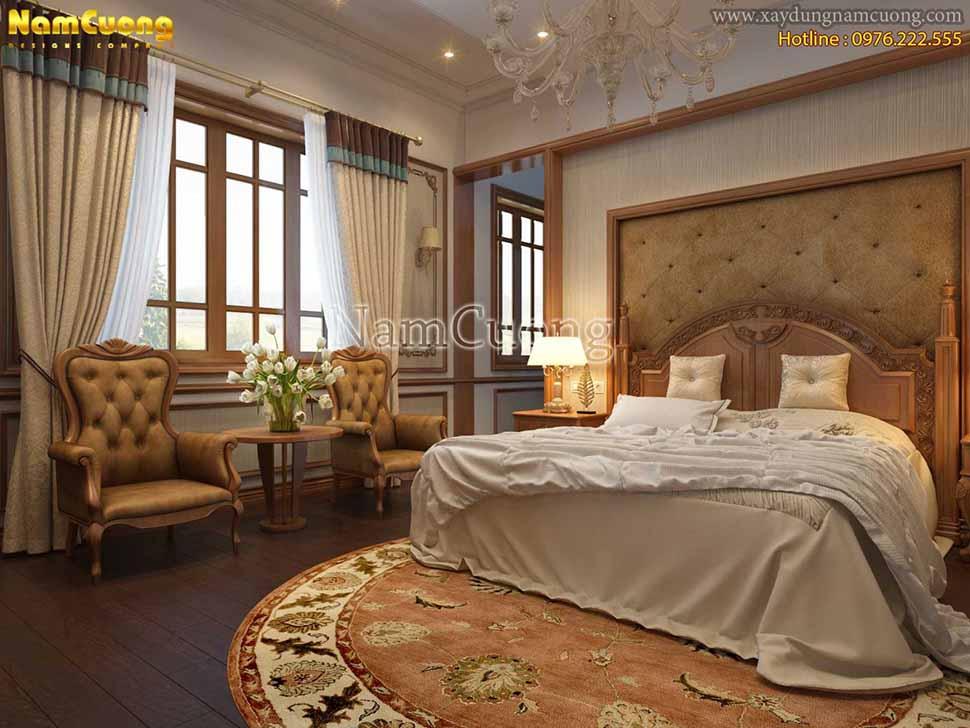 phòng ngủ đơn giản, sang trọng