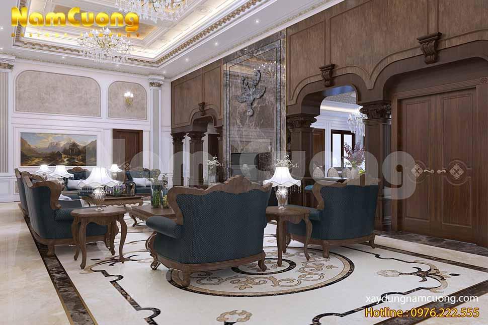 Phòng khách là một trong những nơi quan trọng nhất trong nhà
