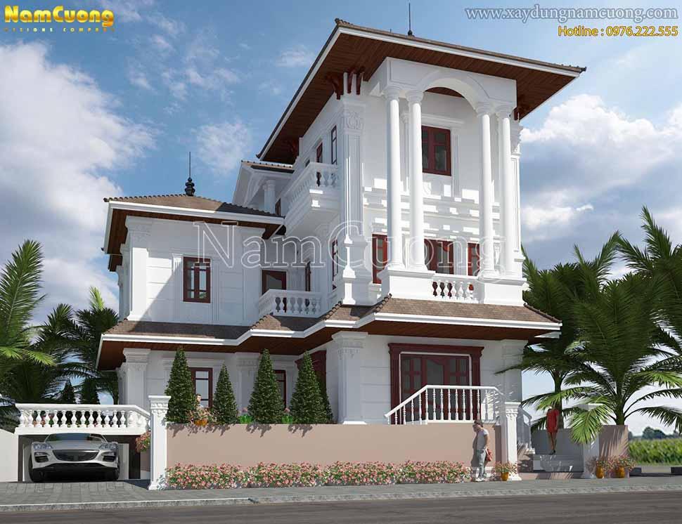 kiến trúc ngôi biệt thự