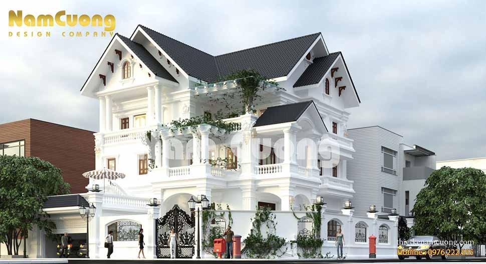 biệt thự tân cổ điển tại Quảng Bình