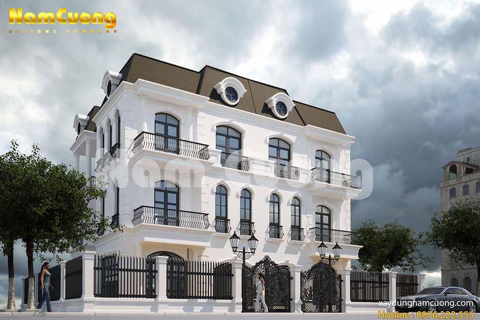 Vẻ đẹp sang trọng của nội thất biệt thự tân cổ điển tại Vinhomes