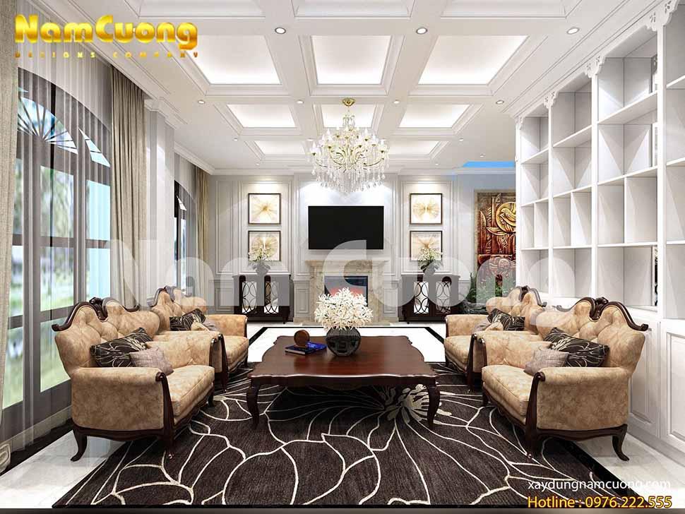 Đặc trưng của phong cách nội thất tân cổ điển là luôn chú trọng vào cách bài trí nội thất sao cho hài hòa