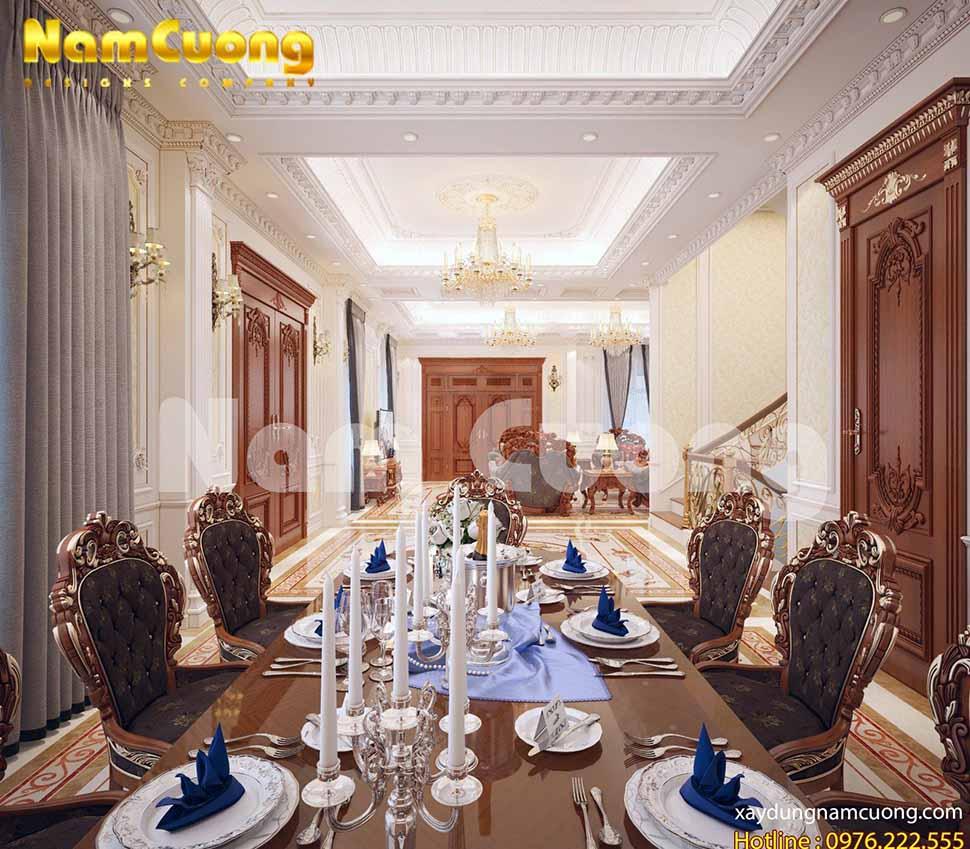 Phòng bếp kết hợp với phòng khách là một sự kết hợp hoàn hảo
