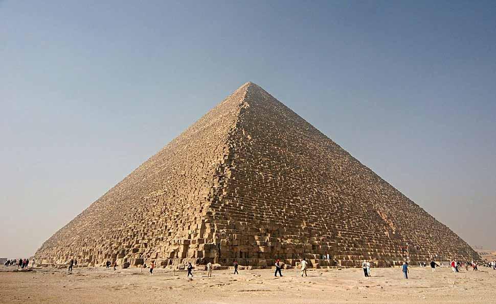 Công trình vĩ đại kim tự tháp ai cập