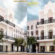 Thiết kế nhà 3 tầng đẹp 4 phòng ngủ đẹp lộng lẫy tại Hưng Yên