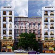 Thiết kế khách sạn mặt tiền 10m tân cổ điển tại Hải Phòng