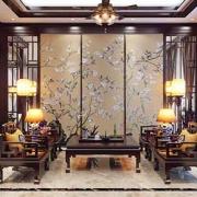 Nội thất nội thất phòng khách gỗ đồng kỵ