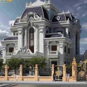 kiến trúc lâu đài 4 tầng