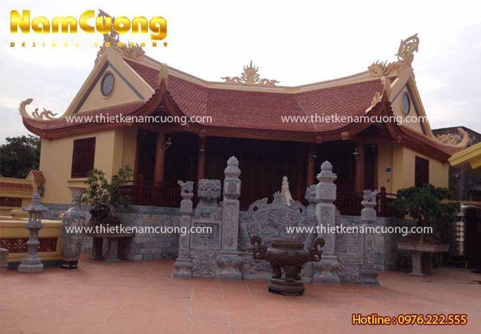Ảnh chụp nhà thờ chính trong khu quần thể kiến trúc nhà thờ họ Trịnh