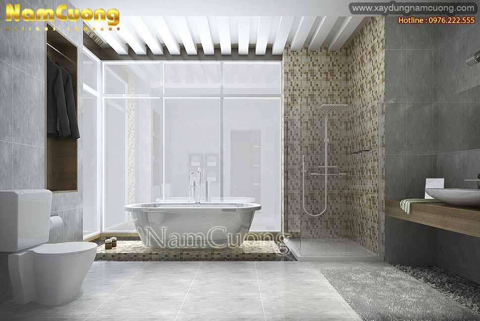 nhà tắm hiện đại