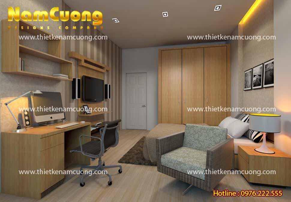 Lối sắp xếp nội thất độc đáo