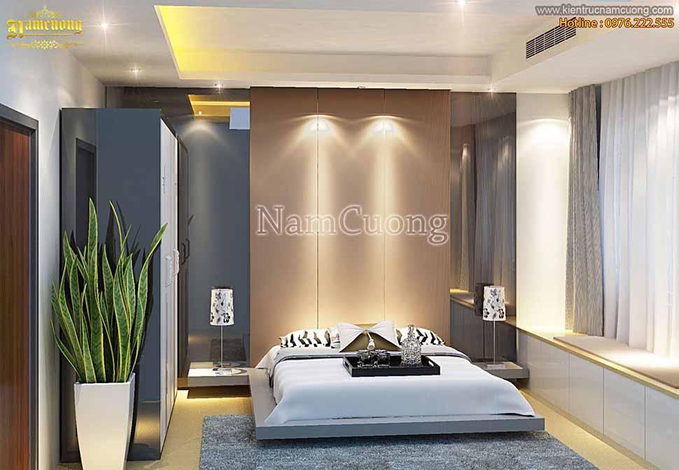 Mẫu phòng ngủ đẹp dễ thi công tại Hải Dương