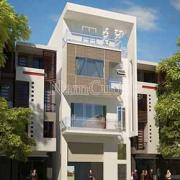 Mẫu nhà phố hiện đại 4 tầng đẹp