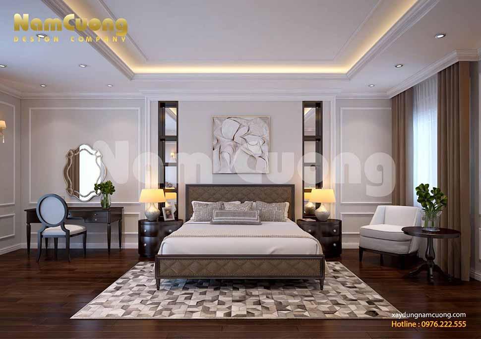 Nội thất phòng ngủ 1 của công trình