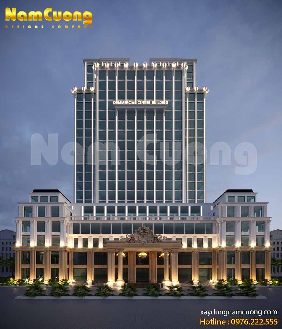 mẫu thiết kế khách sạn 4 sao