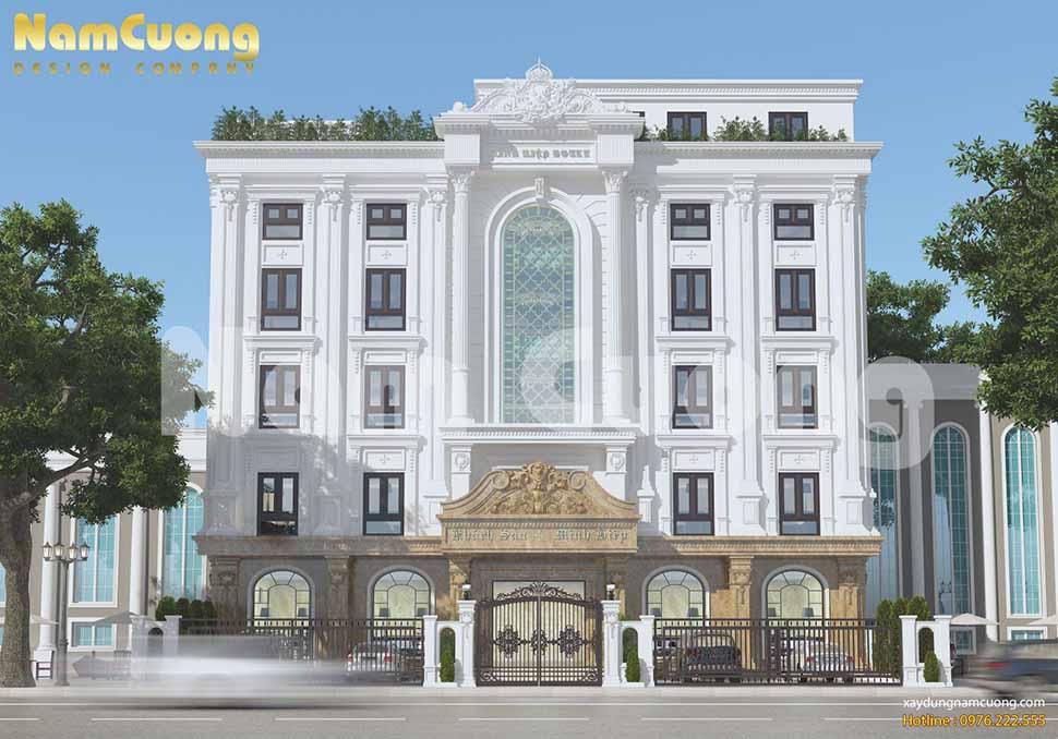 Mẫu thiết kế khách sạn 4 sao ở Quảng Ninh của chú Nguyễn Lê