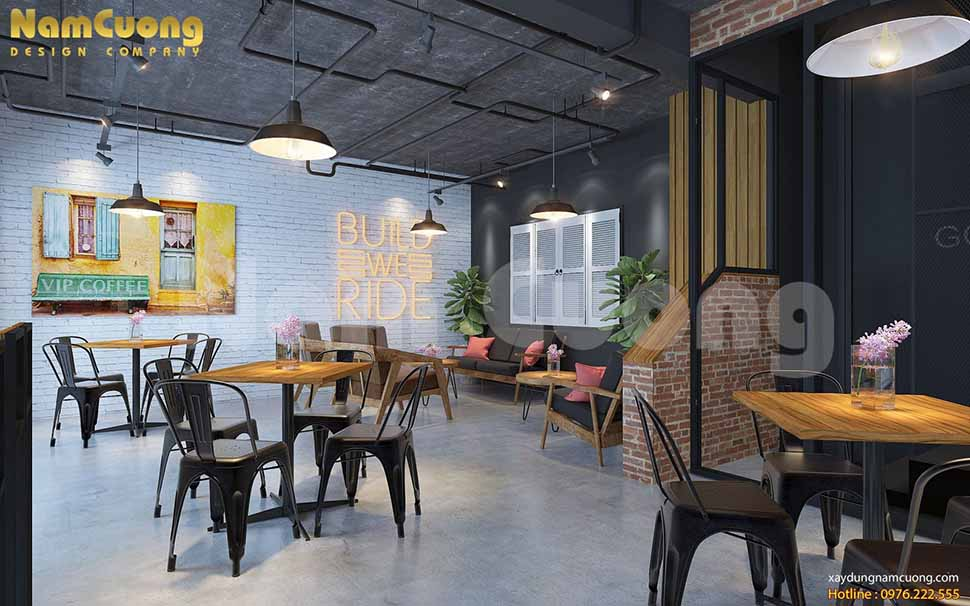 tầng 2 quán cafe