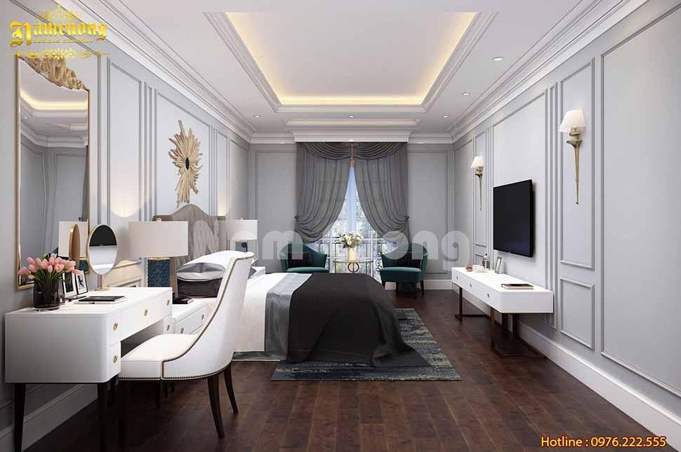 Mẫu phòng ngủ cho mẫu nhà ở kết hợp kinh doanh tại Quảng Ninh