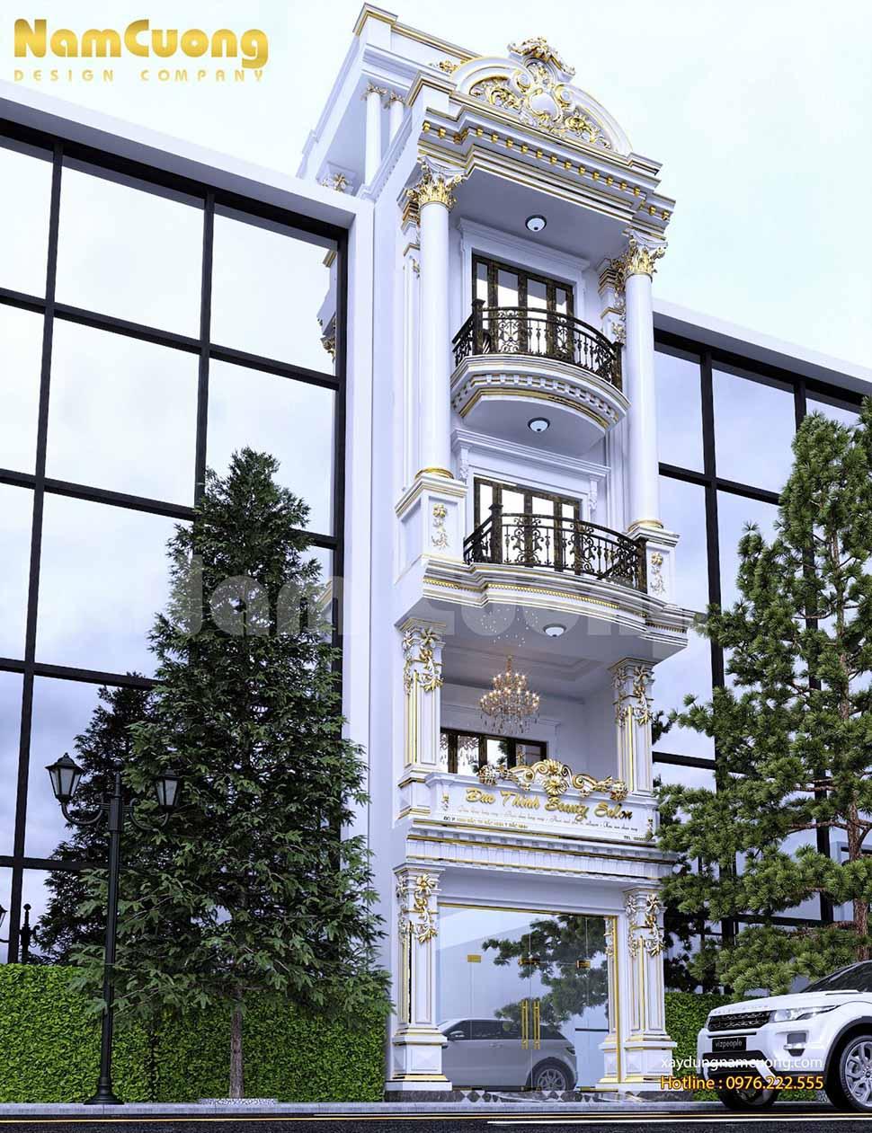 thiết kế nhà ống mặt tiền 6m