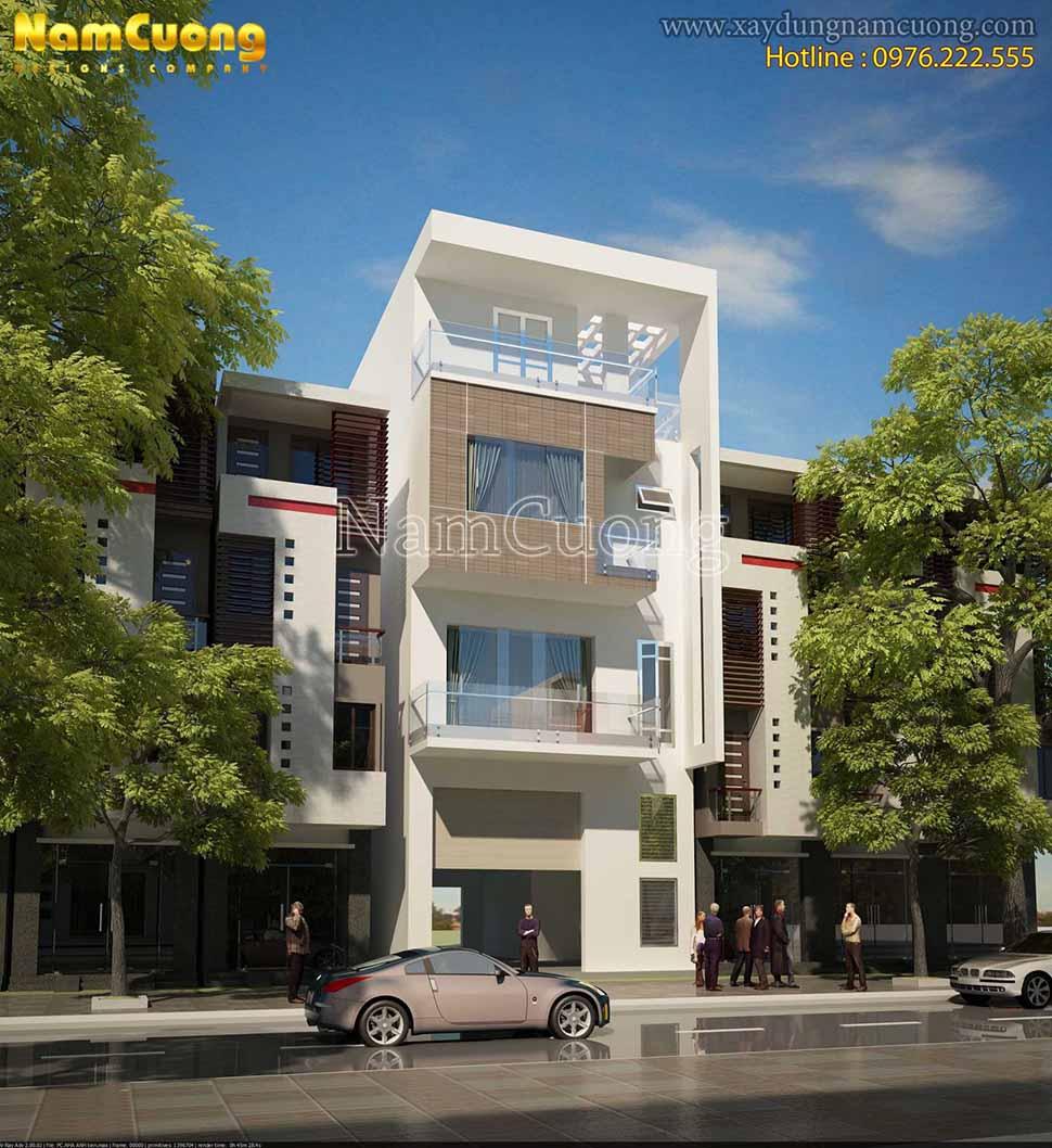 nhà phố hiện đại mặt tiền 6m