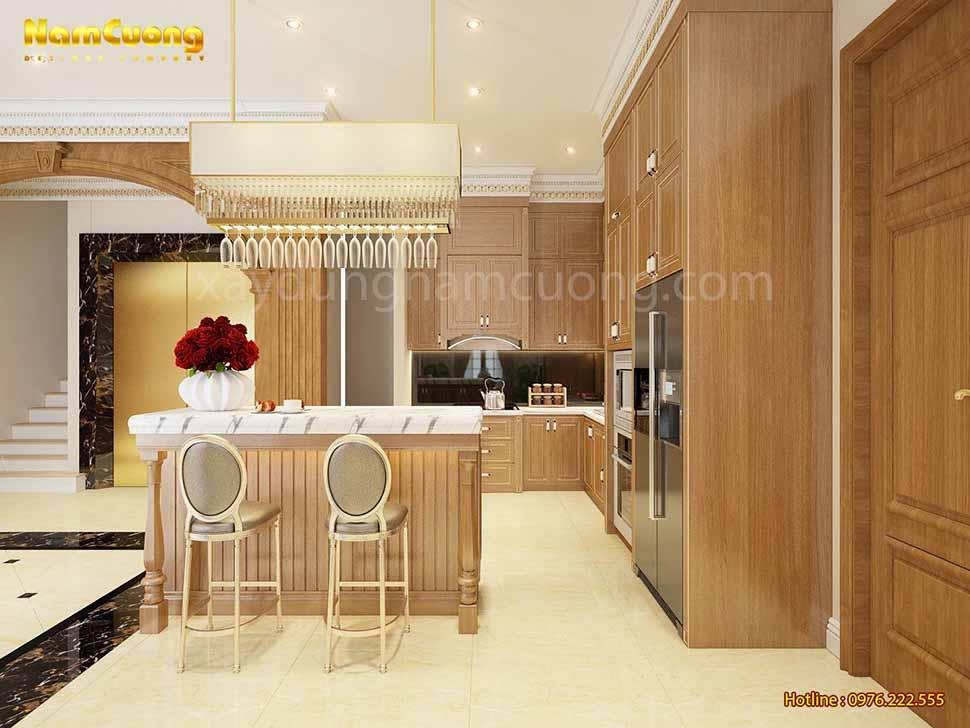 khu bếp nấu đẹp