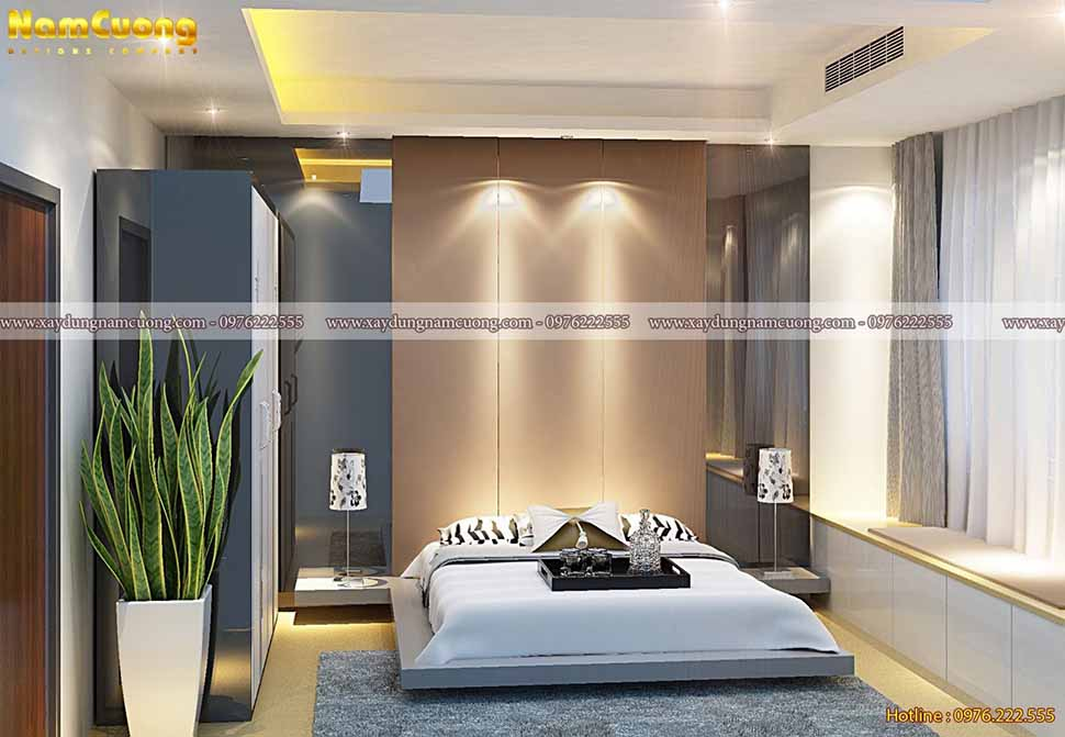 phòng ngủ biệt thự đẹp hiện đại