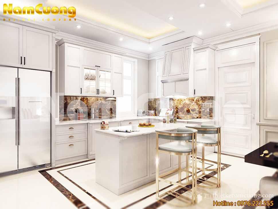 nội thất phòng bếp sang trọng
