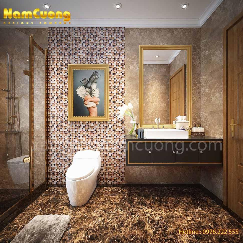 phòng wc tân cổ điển