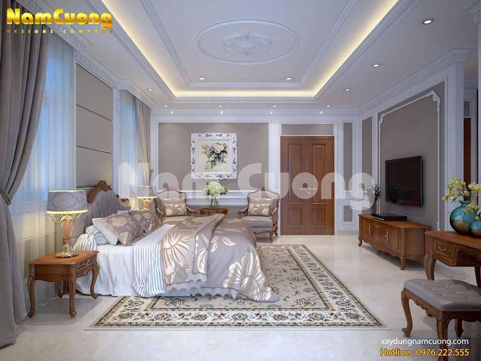 nội thất biệt thự song lập cho phòng ngủ