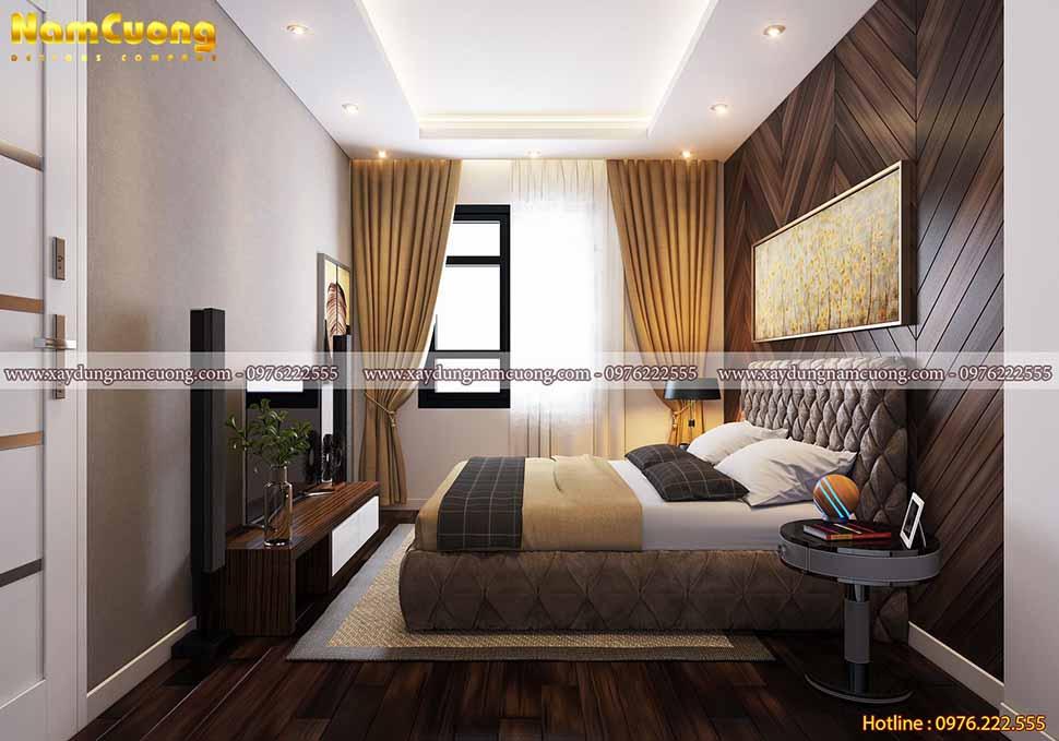không gian phòng ngủ nhỏ