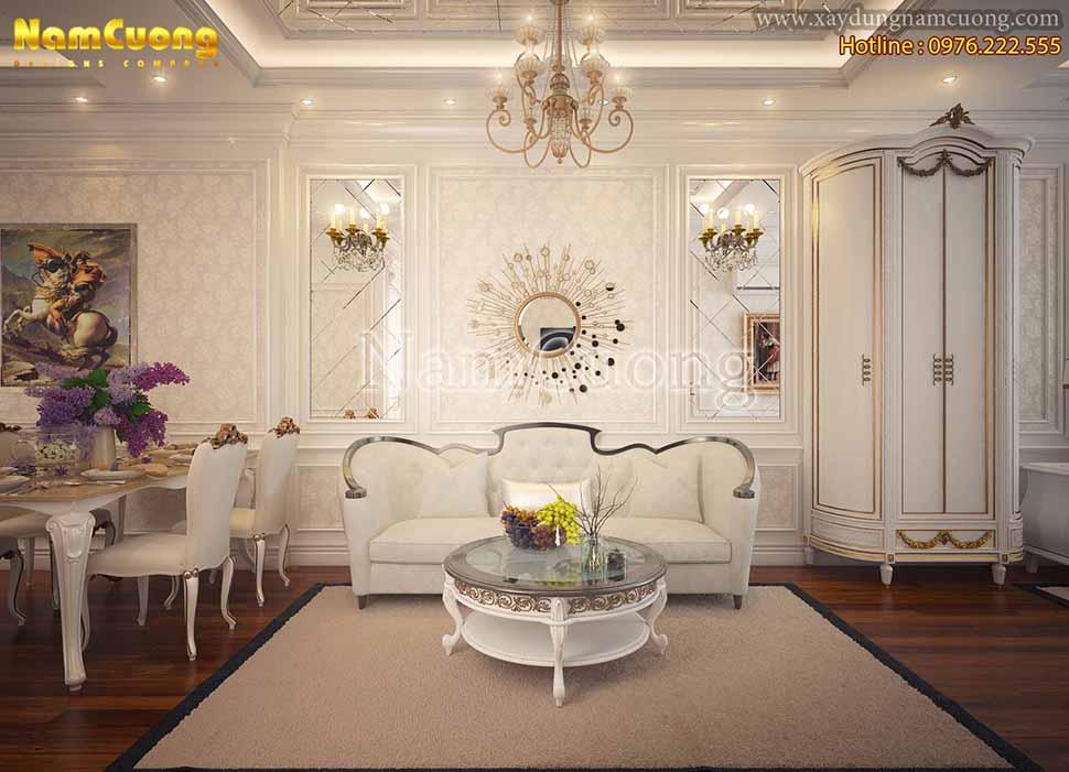 nội thất phòng khách chung cư