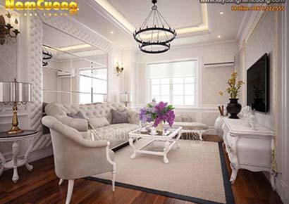 nội thất chung cư cổ điển