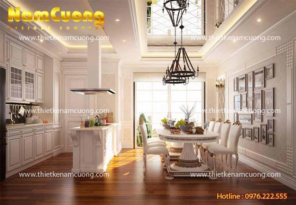 Nội thất căn hộ chung cư 180m2 tại Sài Gòn