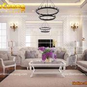 nội thất chung cư tân cổ điển