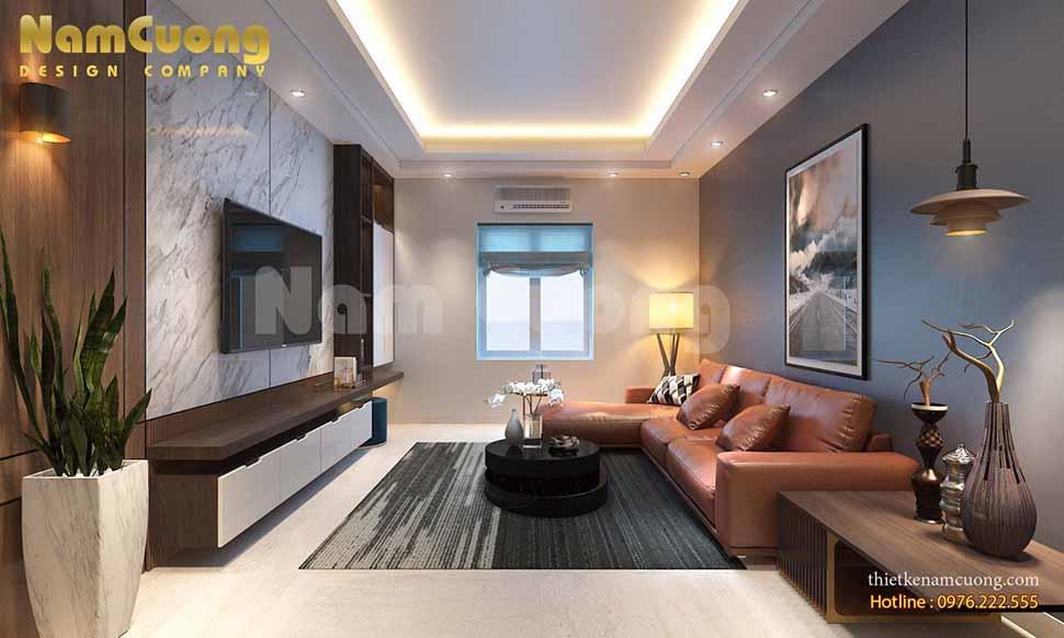nội thất hiện đại tối giản