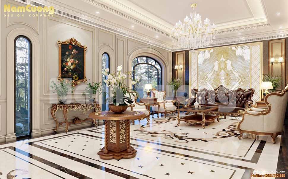 sảnh khách sạn 2 sao