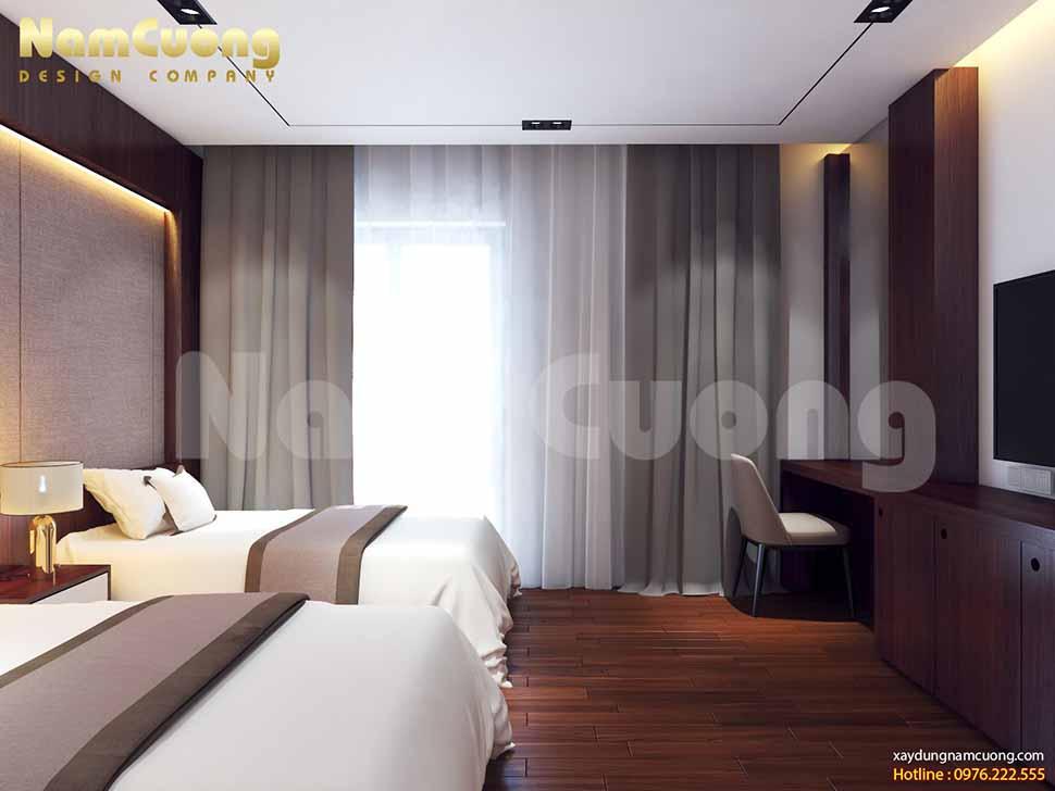 không gian phòng ngủ hiện đại cao cấp