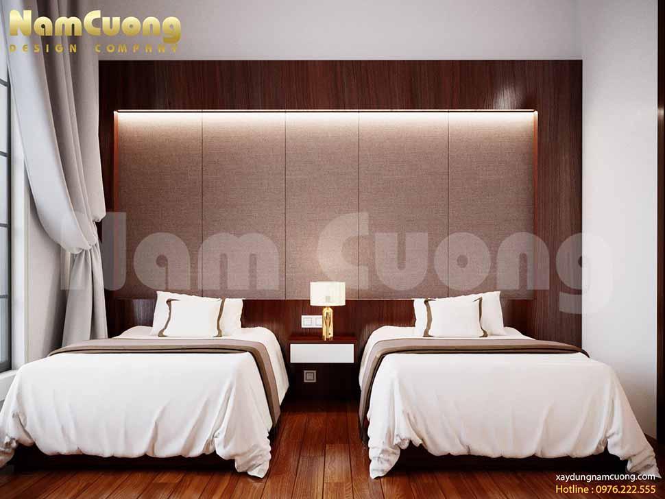 phòng ngủ đôi của khách sạn 3 sao