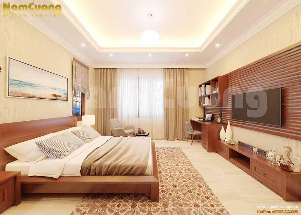 Nội thất phòng ngủ nhà 3 tầng