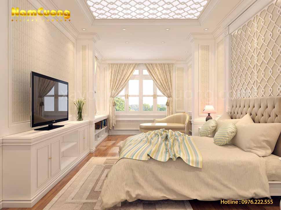 phòng ngủ sang trọng và ấn tượng