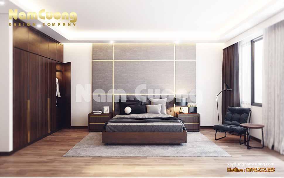 thiết kế phòng ngủ nội thất nhà ống 4m