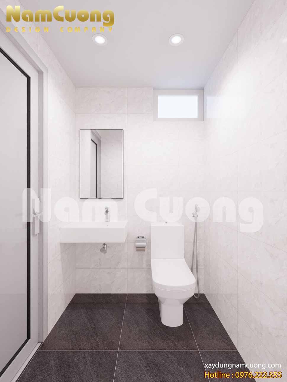 phòng WC hiện đại