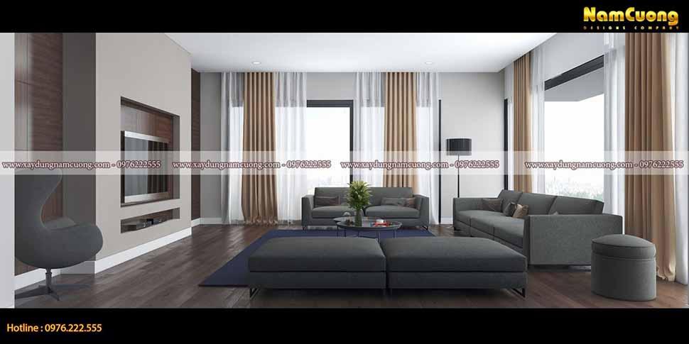 nội thất phòng khách đơn giản